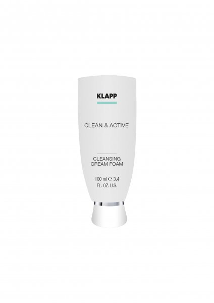 Klapp Clean & Active Cleansing Cream Foam, 100 ml product