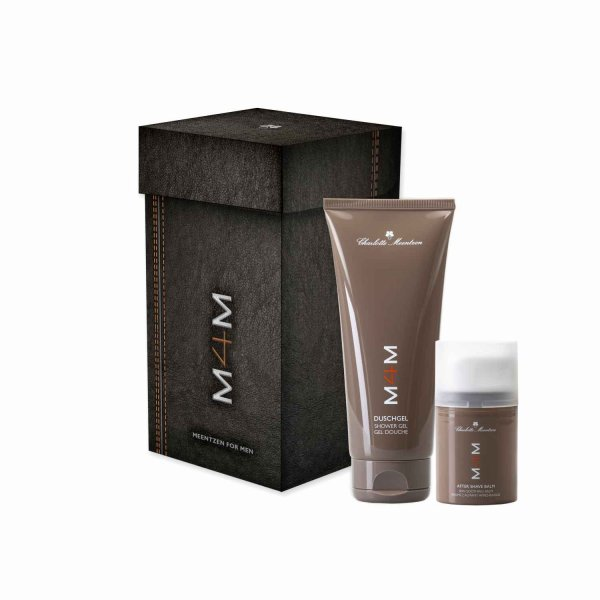 Charlotte Meentzen M4M Set Duschgel + After Shave Balm, 250 ml Gruppe