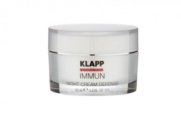 Night Cream Defense | 50 ml | aus der Pflegeserie Immun von Klapp Kosmetik im kokett Kosmetik Hamm Online Shop | Hersteller-Nr.: 1707 | EAN Nr.: 4250094900175