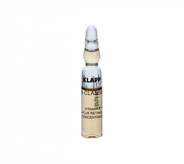 Klapp A Classic Vitamin A Plus Retinol Concentrate, 6x 2 ml
