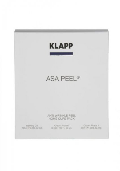 ASA Peel Anti Wrinkle Peel Home Cure Pack, 1 piece folding box front