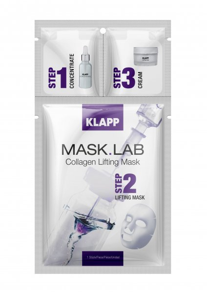 Klapp Mask Lab Collagen Lifting Mask, 1 piece product