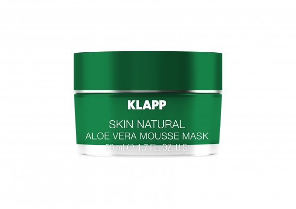 Aloe Vera Mousse Mask, 50 ml - Skin Natural