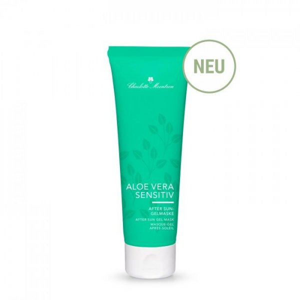 Charlotte Meentzen Aloe Vera Sensitiv After Sun Gel Mask, 75 ml product