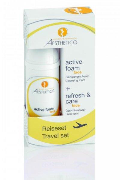 Reiseset (Refresh & Care 50ml + Active Foam 50ml)