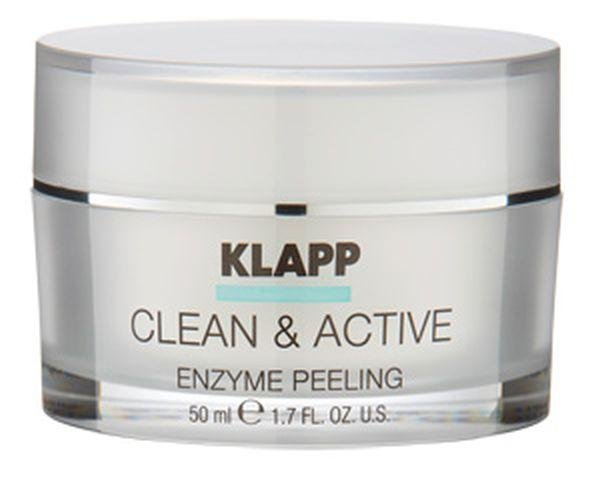 Klapp Clean & Active Enzyme Peeling, 50 ml