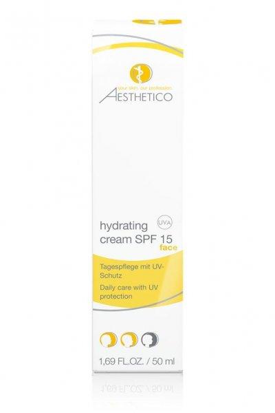 Aesthetico Hydrating Cream SPF 15, 50 ml Verpackung