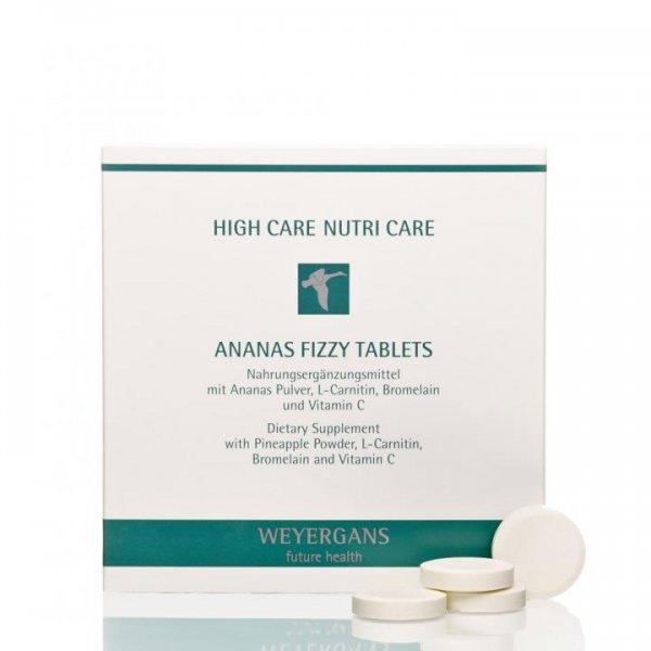 Weyergans Nutri Care Ananas Fizzy Tablets, 4 x 7 Stück