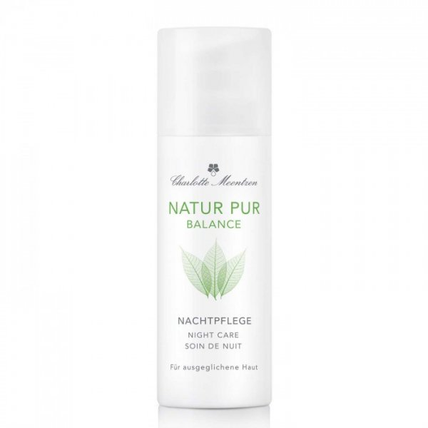 Charlotte Meentzen Natur Pur Balance Night Care, 50 ml group