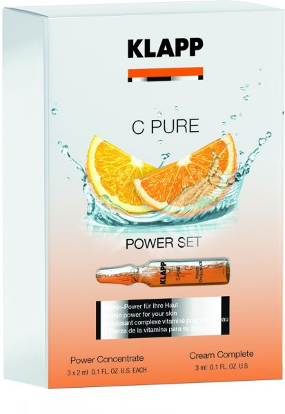 Power Set, 9 ml - C Pure - Klapp Kosmetik