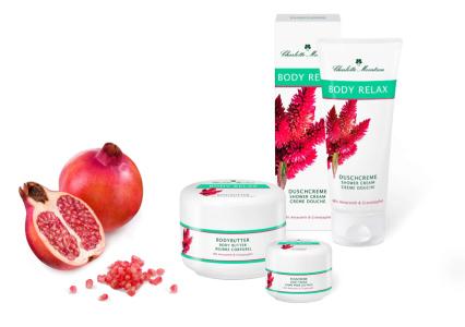 Body Relax Körperpflege mit Amaranth & Granatapfel