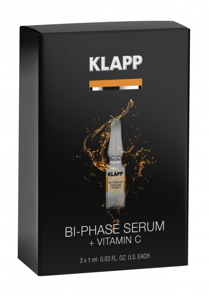 Bi-Phase Serum +VITAMIN C 3 x 1 ml, 3 ml - Power Effect Bi-Phase