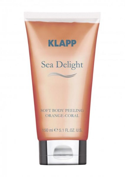 Klapp Sea Delight Soft Body Cream Orange-Coral, 150 ml