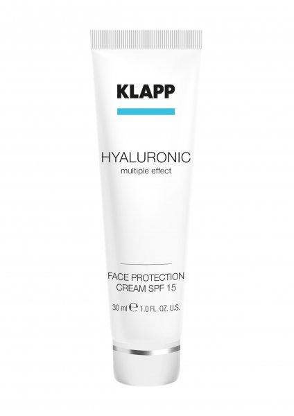 Face Protection SPF 15, 30 ml - Hyaluronic