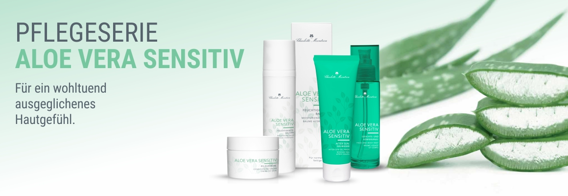 Pflegeserie Aloe Vera Sensitive
