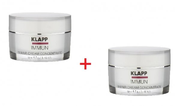 Klap Immun Repair Cream Concentrate (2er-Pack), 2 x 50 ml