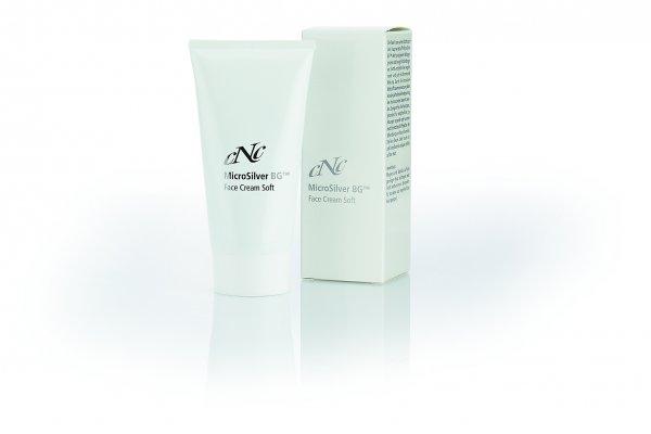 Face Cream Soft, 50 ml - MicroSilver BG™