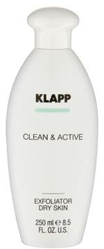 Exfoliator Dry Skin, 250 ml - Clean & Active