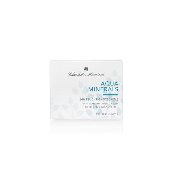 Charlotte Meentzen Aqua Minerals 24H Feuchtigkeitscreme, 50 ml Verpackung