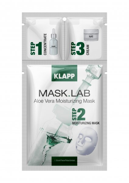 Aloe Vera Moisturizing Mask, 1 Stück - Mask Lab
