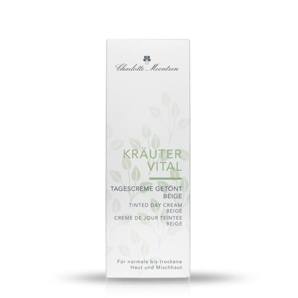 Charlotte Meentzen Active Herbal Tinted day cream beige, 50 ml folding box