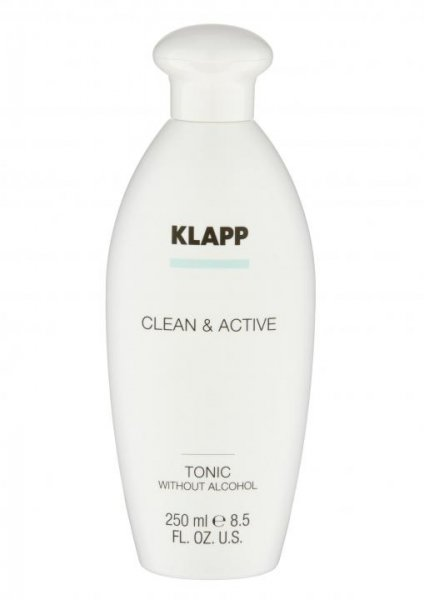 Klapp Clean & Active Tonic without Alcohol 2x250 ml