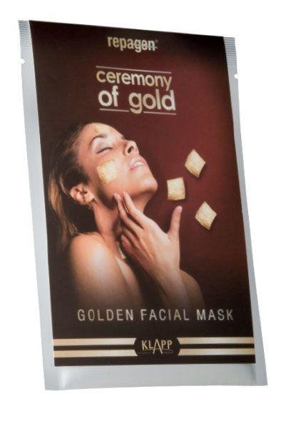 Golden Facial Mask - 1 Stück