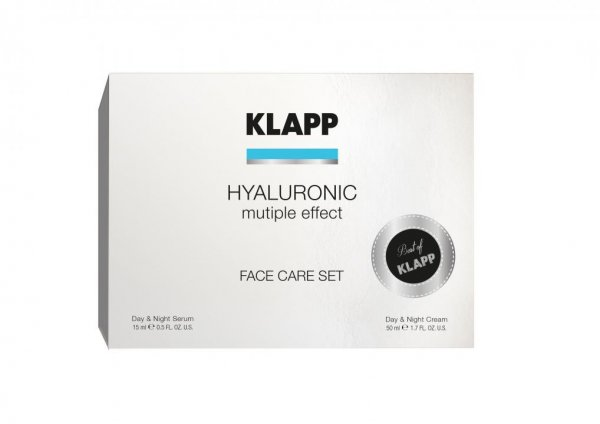 Klapp Hyaluronic Face Care Set, Limited Edition, 65 ml