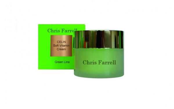 Chris Farrell Green Line Face Care - Celin Soft Vitamin Cream
