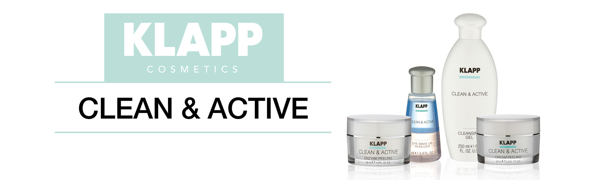 Clean & Active - Cleansing Line