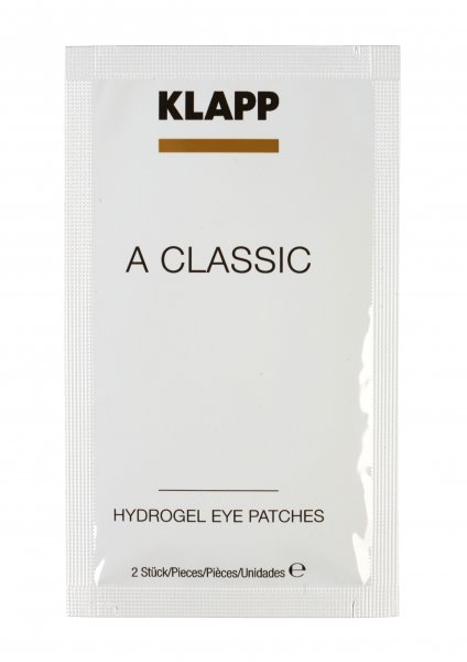 Klapp A Classic Hydrogel Eye Patches, 5x 2 Stück