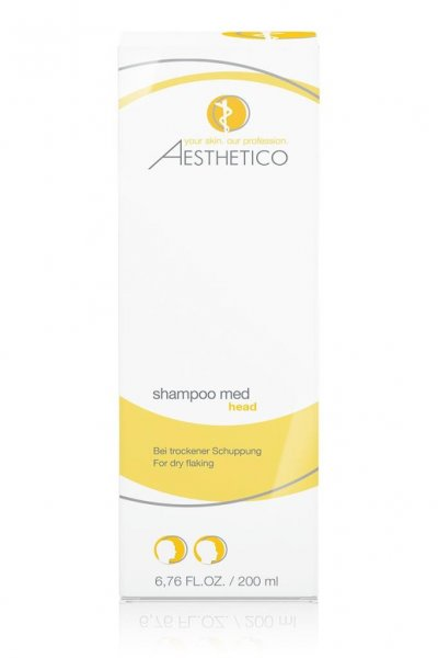 Aesthetico Shampoo Med, 200 ml Verpackung