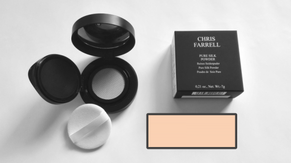 Chris Farrell Pure Silk Powder No.2 , hellbeige, 7 g