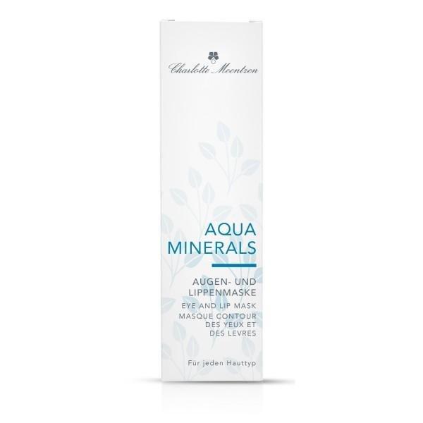 Charlotte Meentzen Aqua Minerals Augen- und Lippenmaske, 30 ml Verpackung
