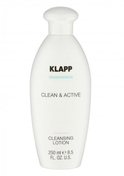 Klapp Clean & Active Cleansing Lotion 2x250 ml Sparpack